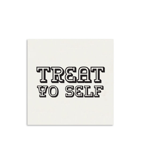 Treat Yo Self Mini Notecard