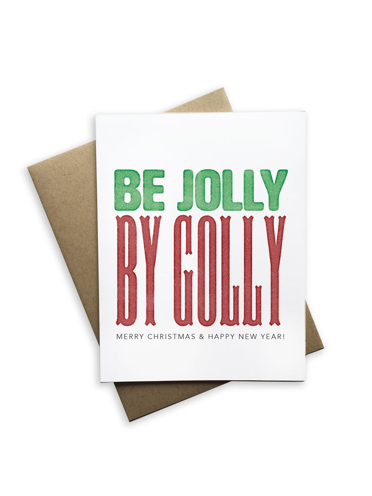 Be Jolly By Golly