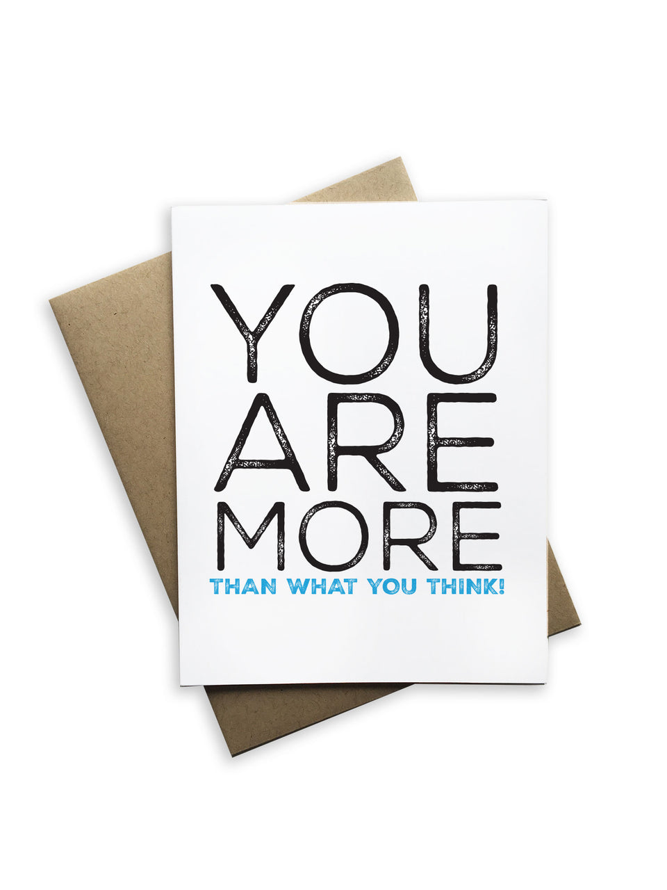 You Are More Notecard