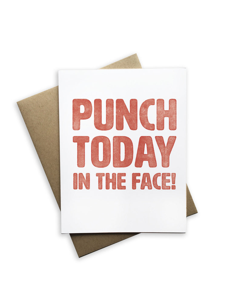 Punch Today Notecard