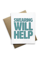 Swearing Will Help Notecard