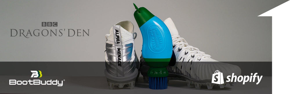 Boot Buddy boot cleaner and football boots | 1HUTCH