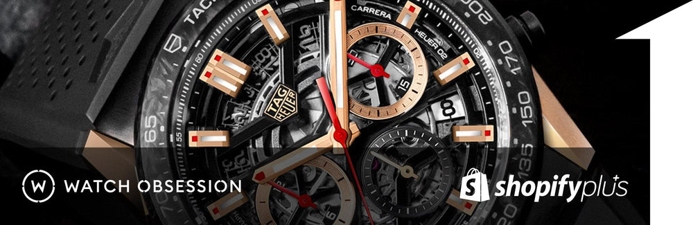 Watch Obsession Tag Heuer watch face | 1HUTCH