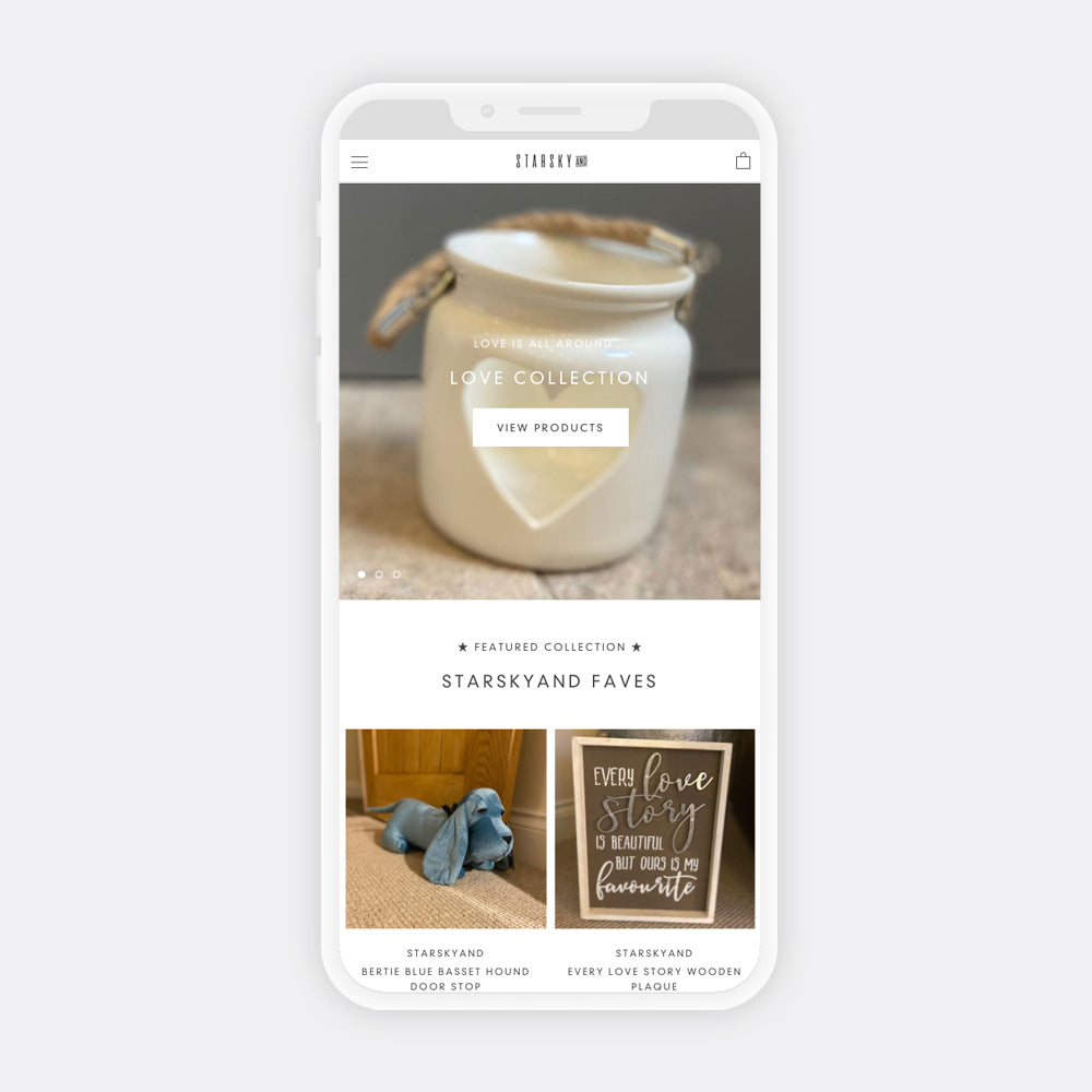 Starskyand mobile website image home page door stops home signs candles | 1HUTCH