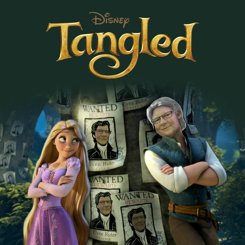 Wayne Edwards AKA. Flynn Rider - Tangled