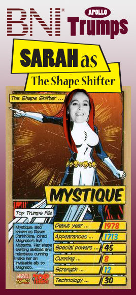 "Sarah - The ""Shape Shifter"" Moss"