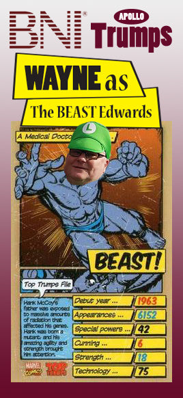 "Wayne - The ""BEAST"" Edwards"