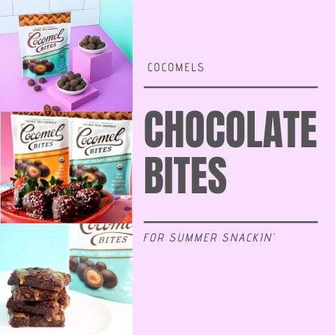 Cocomels Chocolate Bites for Summer Snackin'