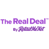 The Real Deal by RetailMeNot logo
