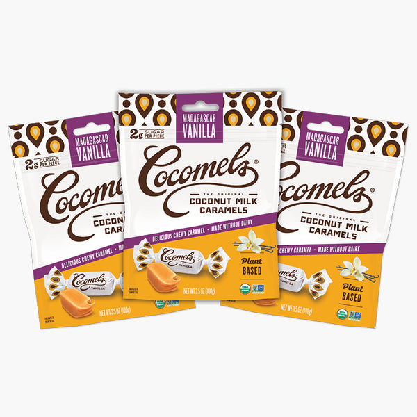 FREE Gift With Purchase Vanilla Cocomels 3.5oz (3 Pack)