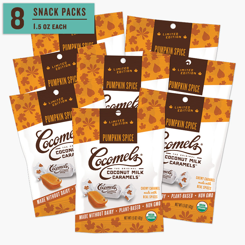 Snack Pack Pumpkin Spice Caramels 1.5oz (8 Pack)