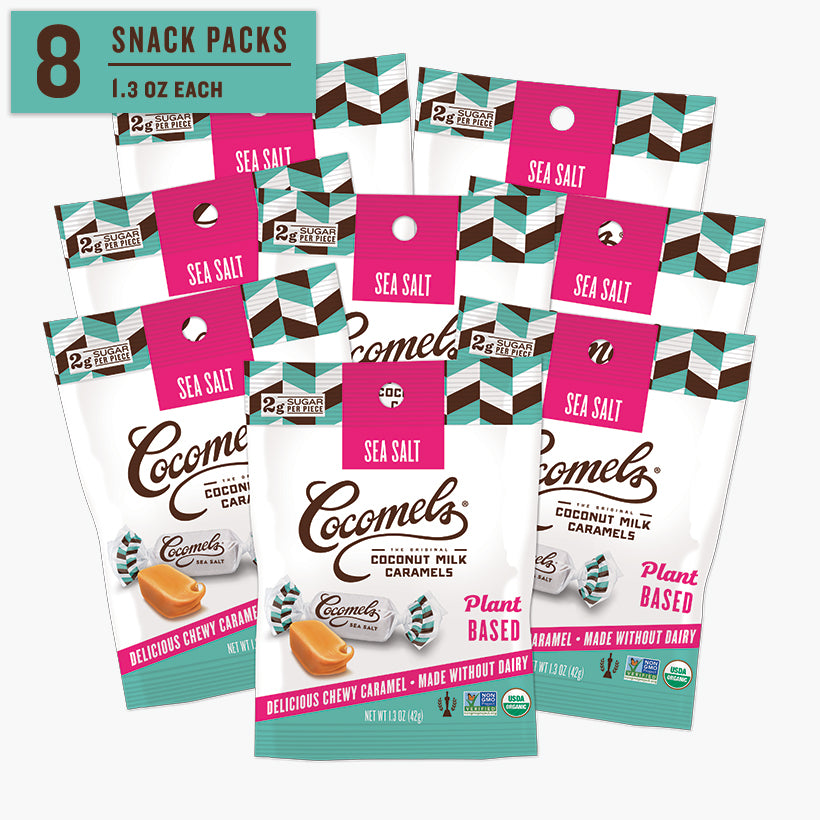 Snack Pack Sea Salt Caramels 1.3oz (8 Pack)