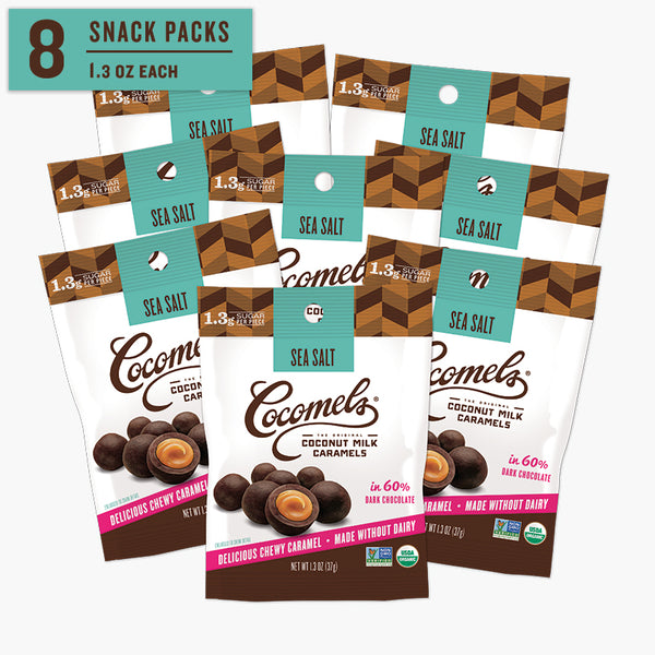 Snack Pack Sea Salt Bites 1.3oz (8 Pack)