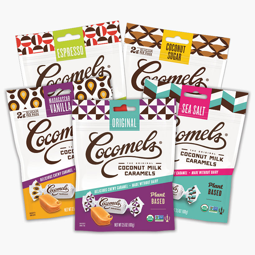 Crazy for Caramels Variety Pack 3.5oz (5 Pack)