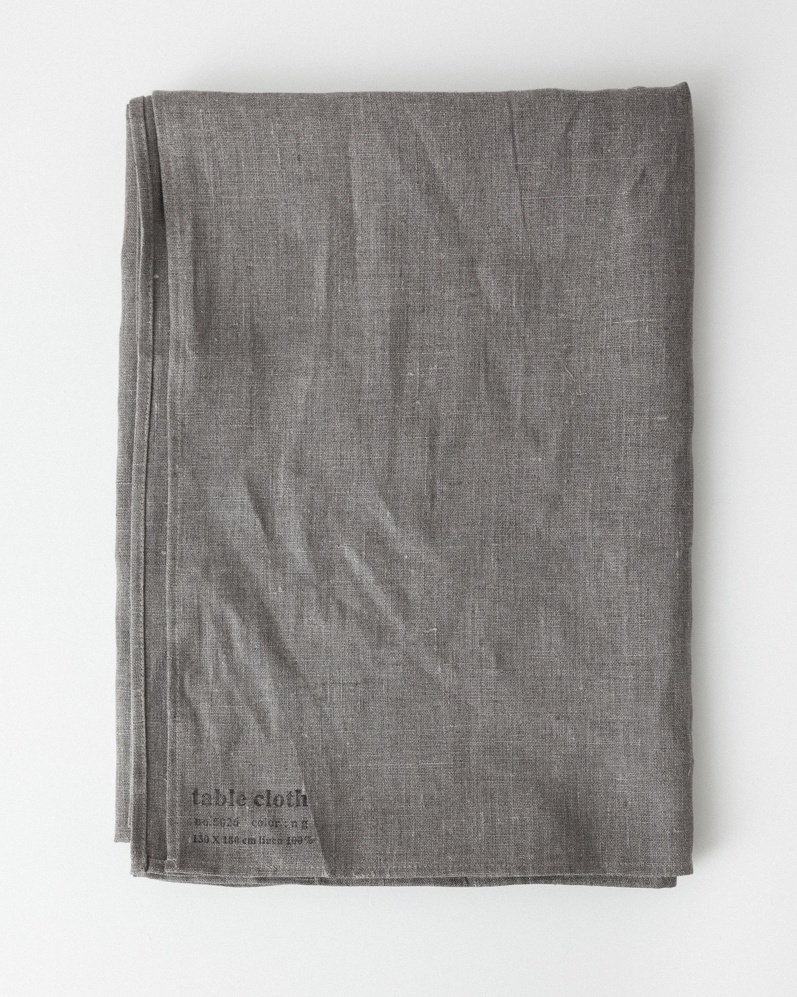 Fog Linen - Linen Table Cloth Large - Natural