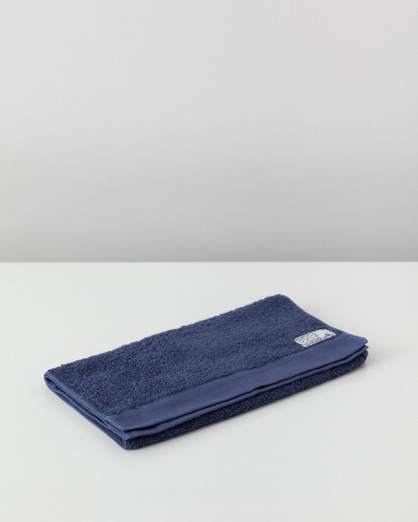 Pacific Furniture Service - Organic Cotton Face Towel - Blue