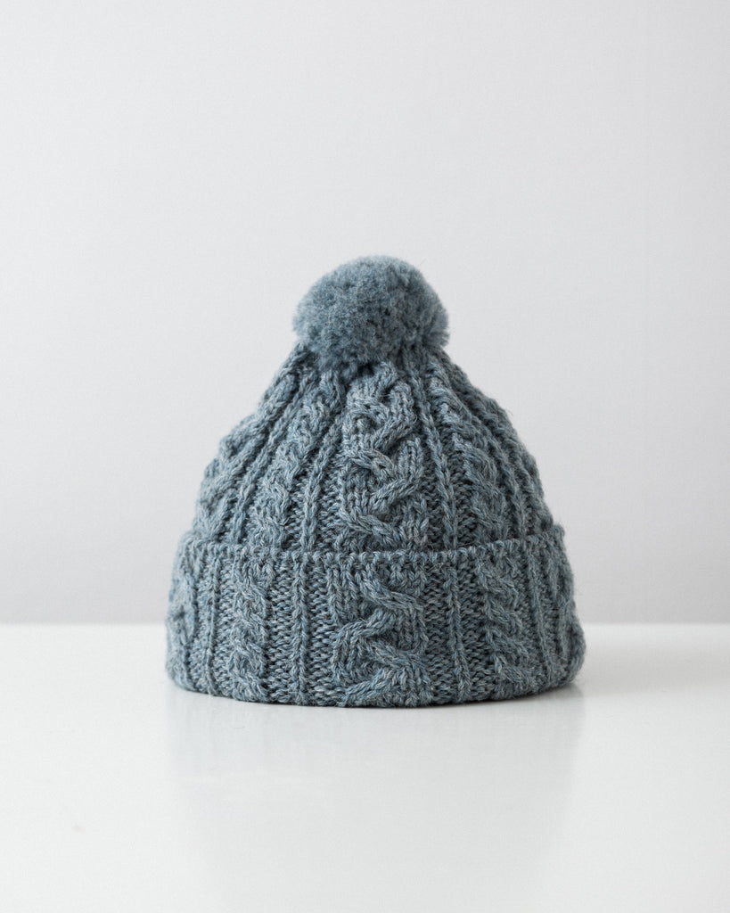 Highland 2000 - Cable Knit Hat - Summer storm