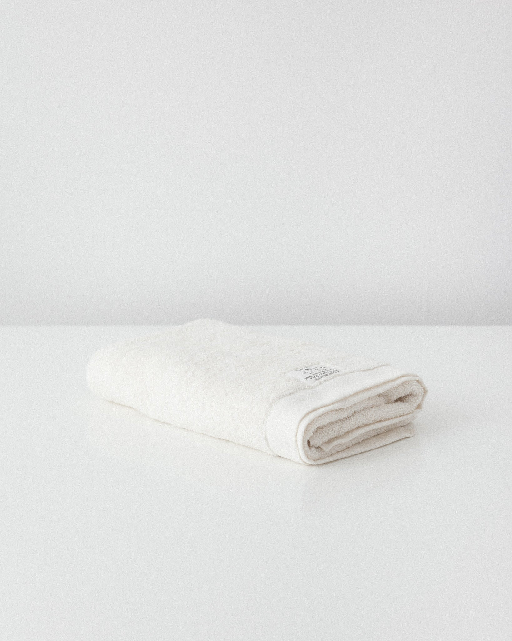 Pacific Furniture Service - Organic Cotton Bath Towel - Vanilla White