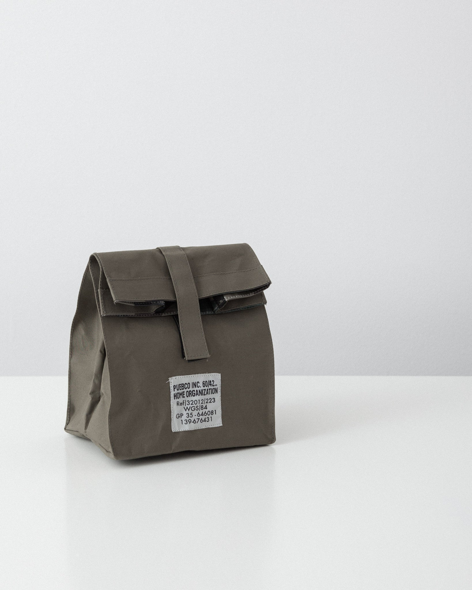 Puebco - Laminated Fabric Lunch Bag