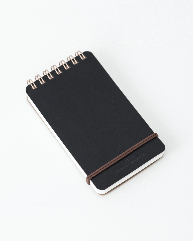 Midori - World Meister Vol. 3 Grain Memo Notepad - Black