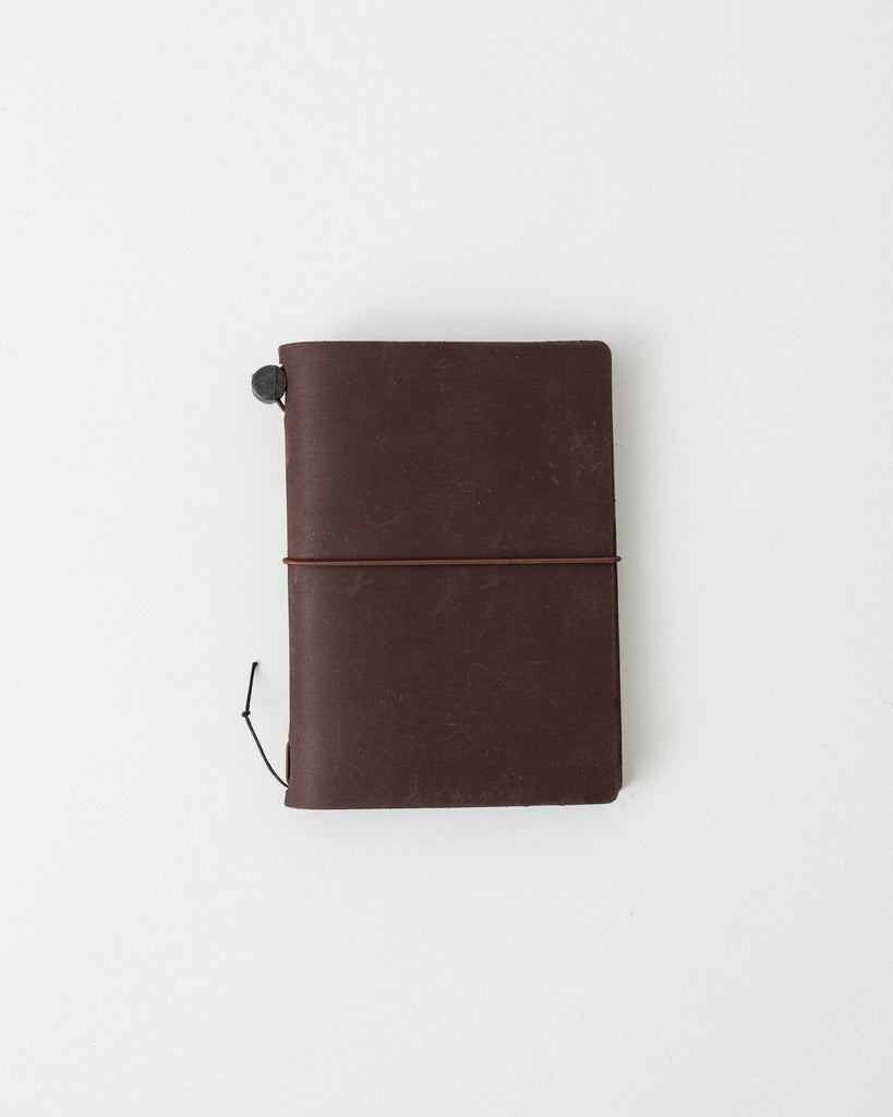 Midori - Traveler's Passport Notebook - Brown