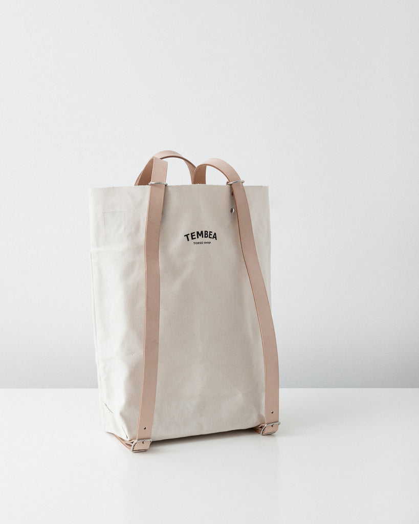 Tembea - School Bag - Natural