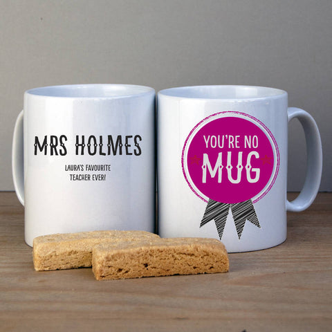 Best Teacher Personalised Mug - Afewhometruths