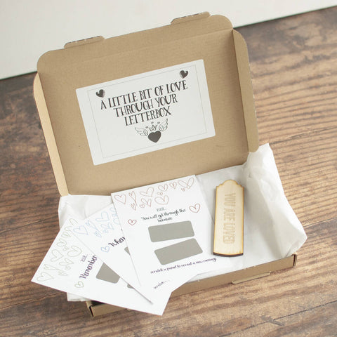 A Box Of Hugs Letterbox Gift Set for Isolation - Afewhometruths
