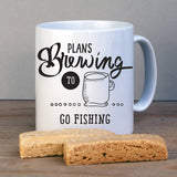 Plans Brewing Secret Message Mug - Afewhometruths