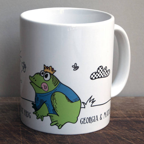 Mummy Kissed That Frog Father's Day Mug - Afewhometruths