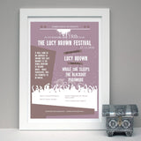 18th Birthday Personalised Music Gig Poster - Afewhometruths