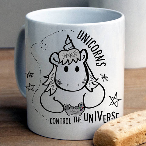 Unicorns Control The Universe Mug - Afewhometruths