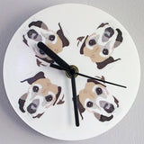 Personalised Dog Wall Clock - multi choice breeds - Afewhometruths