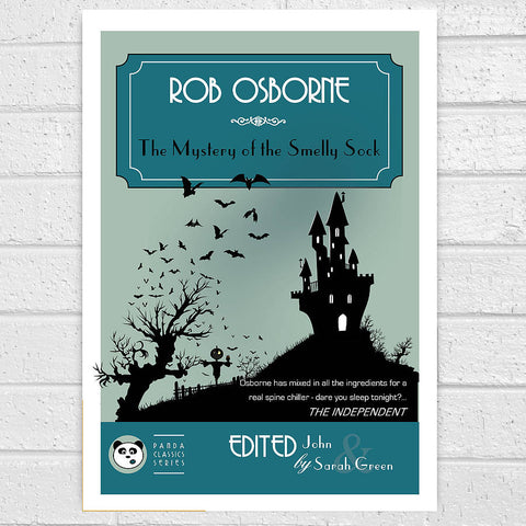 Personalised Horror Book Cover Print - Afewhometruths