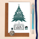 Write Your Own Christmas Card With Hidden Message - Afewhometruths