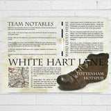 Tottenham Football Club History Print - Afewhometruths