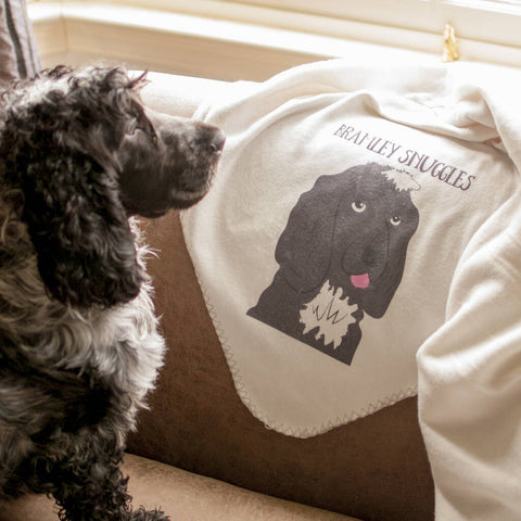 Personalised Dog Blanket - Afewhometruths