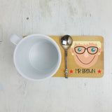 Personalised Best Teacher Coaster - Afewhometruths
