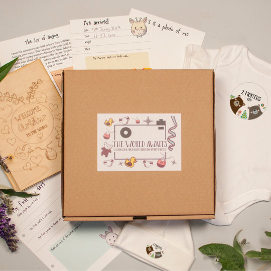 THE WORLD AWAITS BABY Subscription Box - Afewhometruths