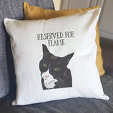 Personalised Cat Cushion - Afewhometruths
