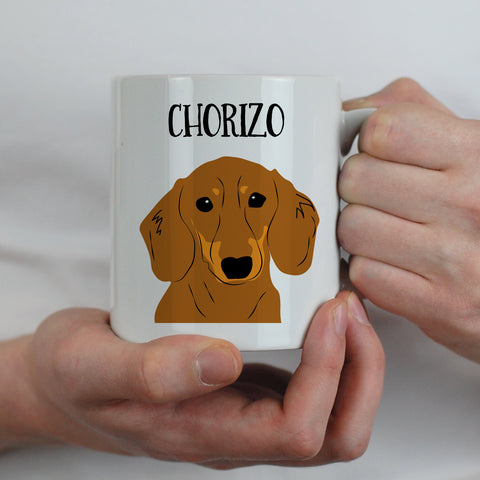 Personalised Dog Gift Mug - multiple breeds - Afewhometruths