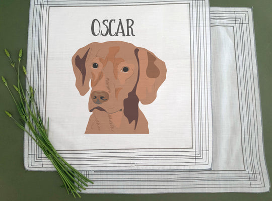 Personalised Dog Handkerchief - Afewhometruths