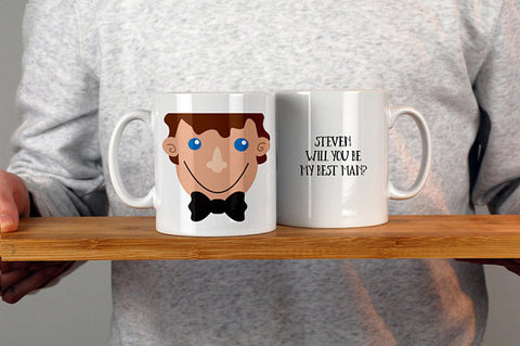 Will You Be My Best Man Mug - Afewhometruths
