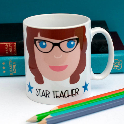Personalised Best Teacher Mug - Afewhometruths