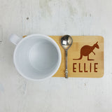 Personalised Kangaroo Coaster - Afewhometruths