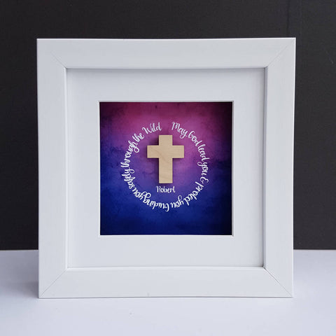 Wooden Cross Framed Gift - Afewhometruths