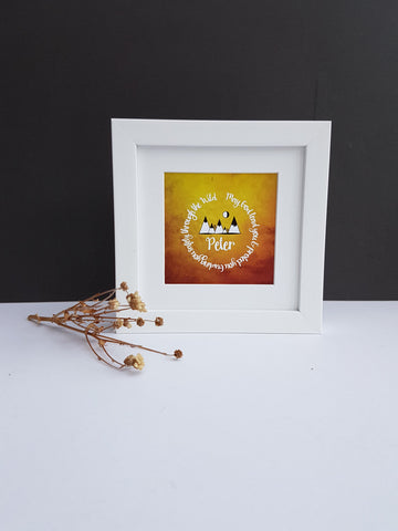 Religious Verse Framed Gift - Afewhometruths