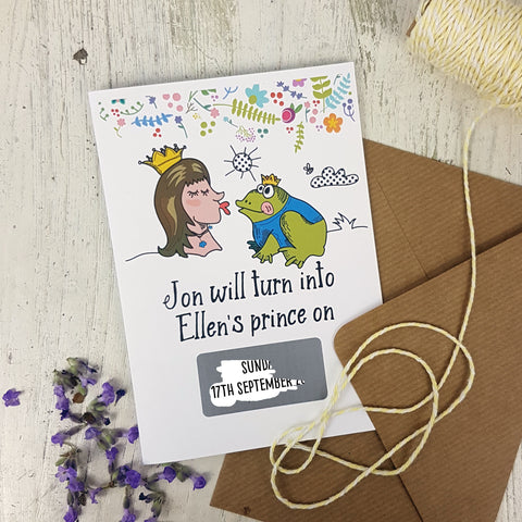 Fairy-Tale Save The Date Cards - Afewhometruths