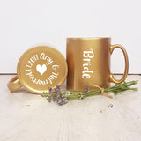 Bride and Groom Matching Mug Gift - Afewhometruths