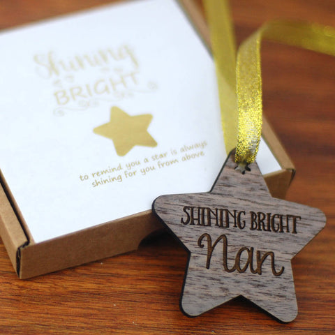 Shining Bright Grandma Memory Decoration - Afewhometruths